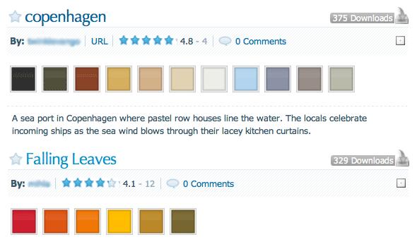 Colorschemer handig voor kleurencombinaties