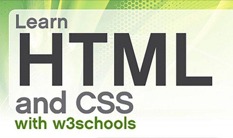 Leer HTML en CSS met W3schools